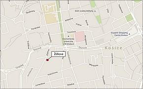 Projekt Žižkova - lokalita