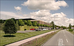 Národné tréningové centrum Košice Vizualizácia